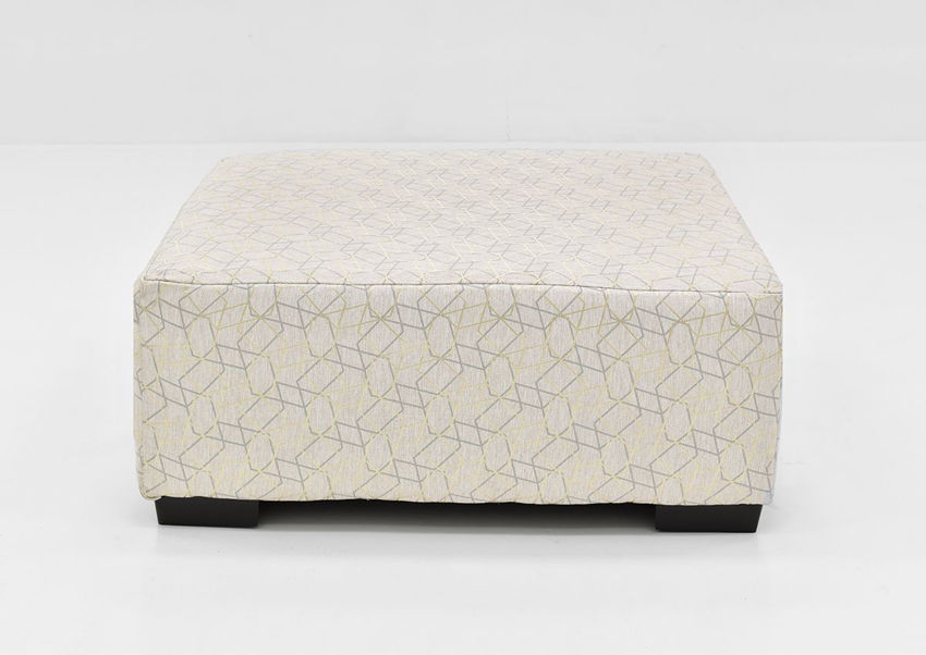 Front Facing View of the Gabriella Cocktail Ottoman | Home Furniture Plus Bedding