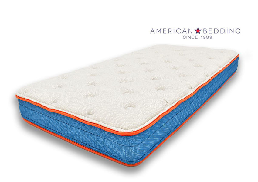 Valor Queen Size Mattress by American Bedding Angle View | Home Furniture Plus Bedding