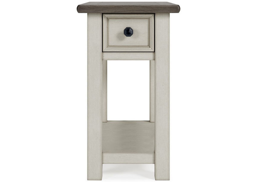 Front Facing View of the Bolanburg Chairside End Table by Ashley Furniture    Home Furniture Plus Bedding