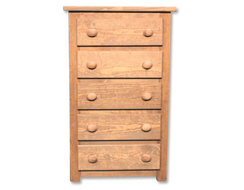 Light Brown Chest of Drawers Facing Front | Home Furniture Plus Mattress