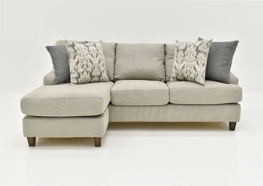 Front View of the Kimber Sofa by Franklin Corporation   Home Furniture Plus Bedding