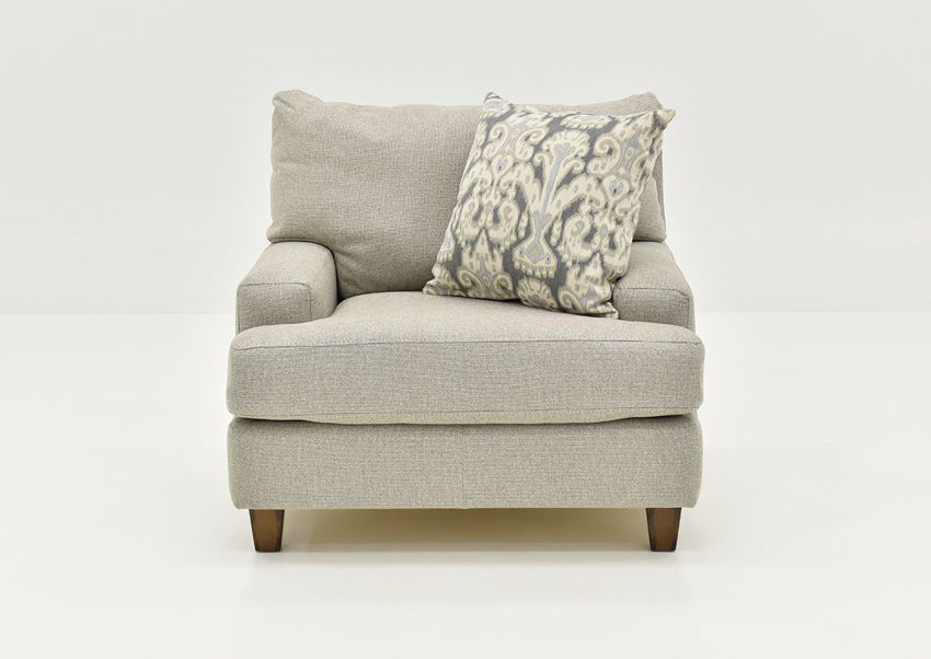 Front View of the Kimber Chair by Franklin Corporation   Home Furniture Plus Bedding