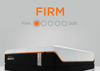 Graphic Showing the Feel and Comfort Level of the Tempur-Pedic TEMPUR-LUXEAdapt FIRM - Twin XL | Home Furniture Mattress Center