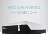 Graphic Showing the Feel and Comfort Level of the Tempur-Pedic ProAdapt Medium Hybrid Mattress - Full Size | Home Furniture Mattress Center