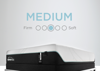 Graphic Showing the Feel and Comfort Level of the Tempur-Pedic ProAdapt Medium Mattress - Full Size   Home Furniture Mattress Center